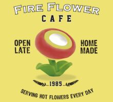 Fire Flower Cafe - Serving Hot Flowers Everyday! Kids Clothes