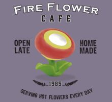 Fire Flower Cafe - Serving Hot Flowers Everyday! by thehookshot