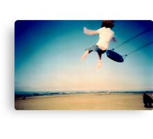 Lomo - And then you let go... Canvas Print