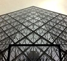 Louvre pyramid by Christophe Claudel