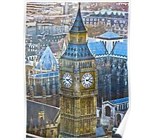 BIG BEN [From the london eye] Poster