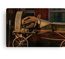 """ Horse Nail Trimmer on the Farm "" Canvas Print"