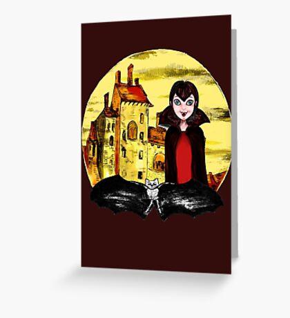 Transylvania Mavis night Greeting Card