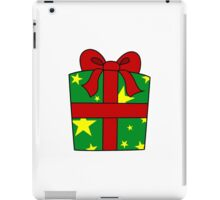 Christmas present 1 iPad Case/Skin