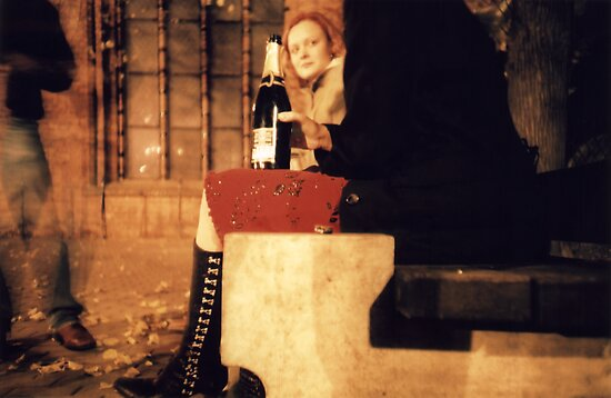 Lomo - Champagne on Dome Square by Thomas Spiessens
