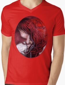 my heart soars like a blood red artifact Mens V-Neck T-Shirt