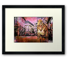 London V - The Guest From The Past Framed Print