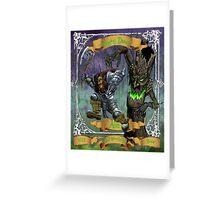 Raging Dwarf Ale Greeting Card