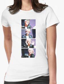BTS/Bangtan Sonyeondan - V Collage Womens Fitted T-Shirt