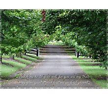 Psalm 143:10 Photographic Print
