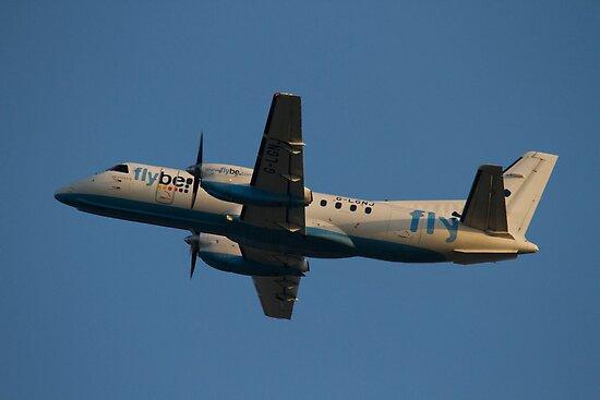 Flybe.com SAAB SF.340B G-LGNJ by Jon Lees