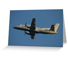 Flybe.com SAAB SF.340B G-LGNJ Greeting Card