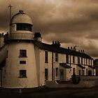 Paull Lighthouse in Sepia by Will Corder | Photography
