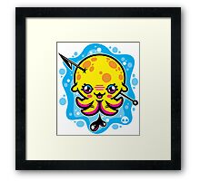 Harpooned My Heart! Framed Print