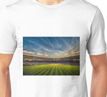 New Wrigley Field View at dusk  Unisex T-Shirt
