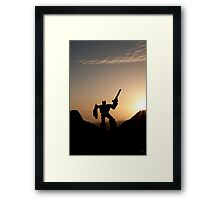 The Hills, At Sundown Framed Print