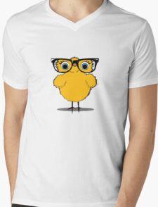 Geek Chic Chick Mens V-Neck T-Shirt