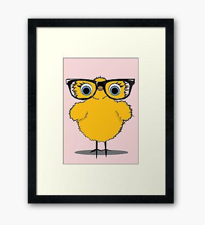 Geek Chic Chick Framed Print