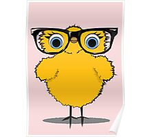 Geek Chic Chick Poster