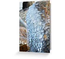 Frozen Bubbles Greeting Card
