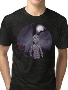 the MUMMY RETURNS Tri-blend T-Shirt