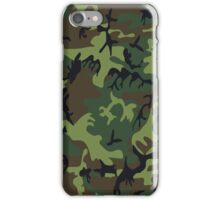 U.S. Woodland Camo Pattern iPhone Case/Skin
