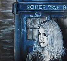 Portrait of Rose Tyler by demoninblue