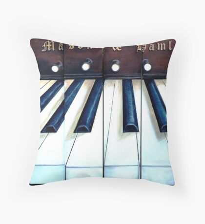 Keys to the past Throw Pillow