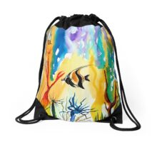Colours of the Sea Drawstring Bag