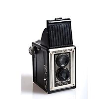 Twin Lens Camera Photographic Print