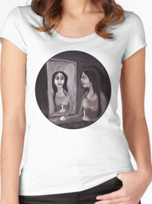 the MIRROR Women's Fitted Scoop T-Shirt
