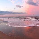 Pink Beach by Jennie L. Richards