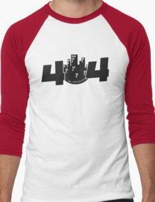 programmer - 404 life not found Men's Baseball ¾ T-Shirt