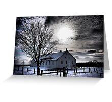 The Light From Above Greeting Card