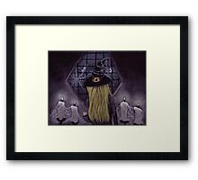 Witches Waiting... Framed Print