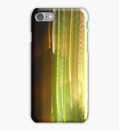 Streakers - YellaGreen iPhone Case/Skin