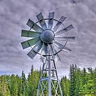 Steel Windmill by Keri Harrish
