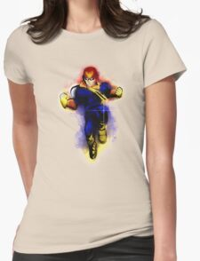 Knee of Justice  Womens Fitted T-Shirt