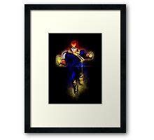 Knee of Justice  Framed Print
