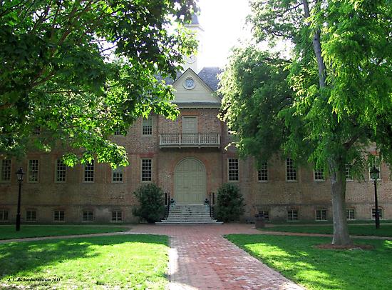 Wren Building by Jennie L. Richards