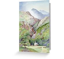 Beddgelert Greeting Card