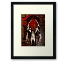 Ravaged by Fire Framed Print