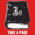 The Book of Jeff (monochrome) by Steve Hryniuk