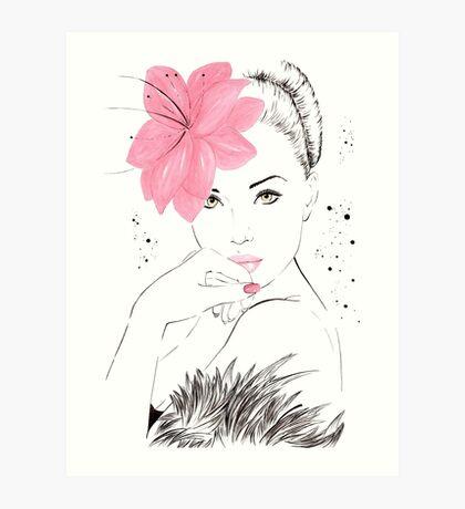 Adorable Amy Art Print