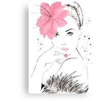 Adorable Amy Canvas Print