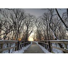 Over The Bridge Photographic Print