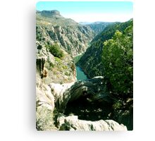 Black Canyon, Colorado Canvas Print