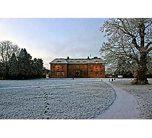 Wintertime at Tredegar House Photographic Print