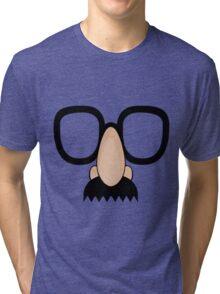 Goofy Disguise. Tri-blend T-Shirt