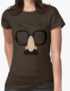Goofy Disguise. Womens Fitted T-Shirt